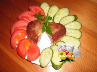 зразы мясные с грибами и сыром рецепт с фото