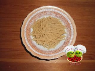 спагетти поломать