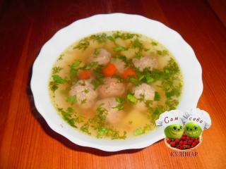 Суп с фрикадельками - рецепты с фото пошагово