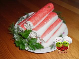 крабовые палочки с начинкой праздничная закуска