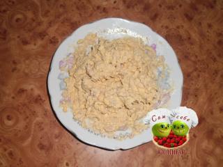 начинка для яиц из печени трески и желтков