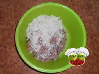 фарш с рисом