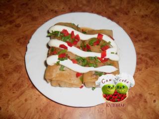 блюдо с майонезом
