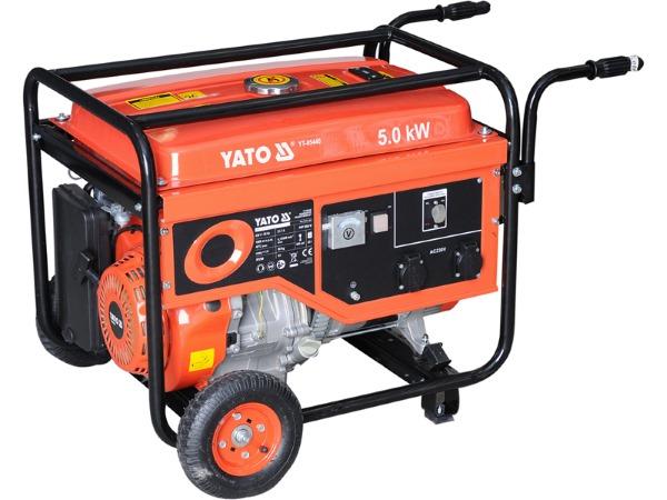 бензиновый электрогенератор Yato