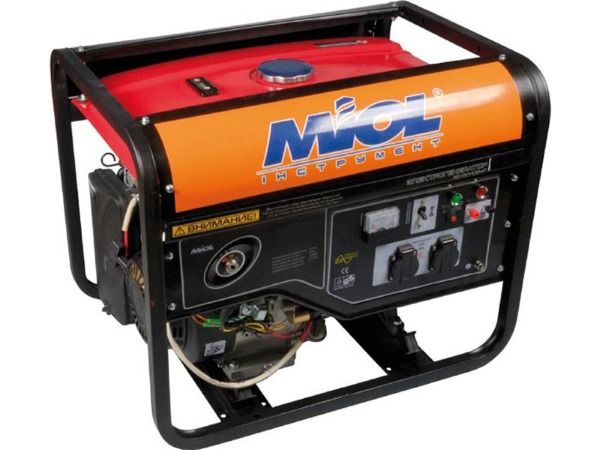бензиновый электрогенератор Miol купить