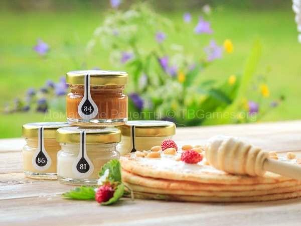 Подарочный набор мёда Peroni и чай Улун купить
