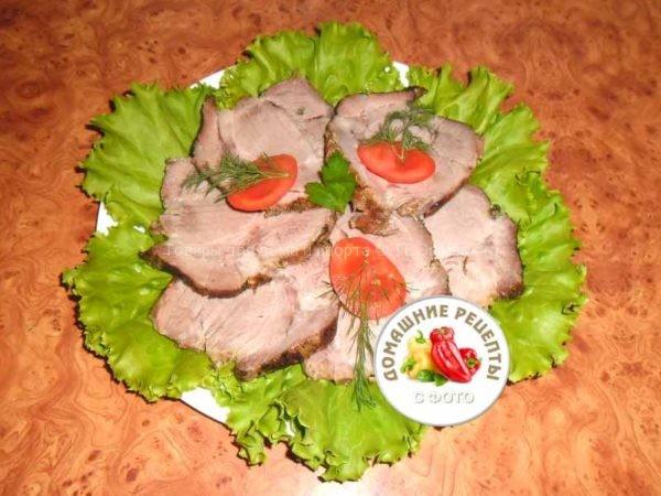 Свиная шейка в духовке рецепт с фото