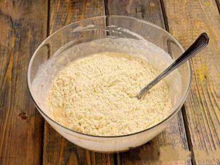 замешиваем тесто для хачапури