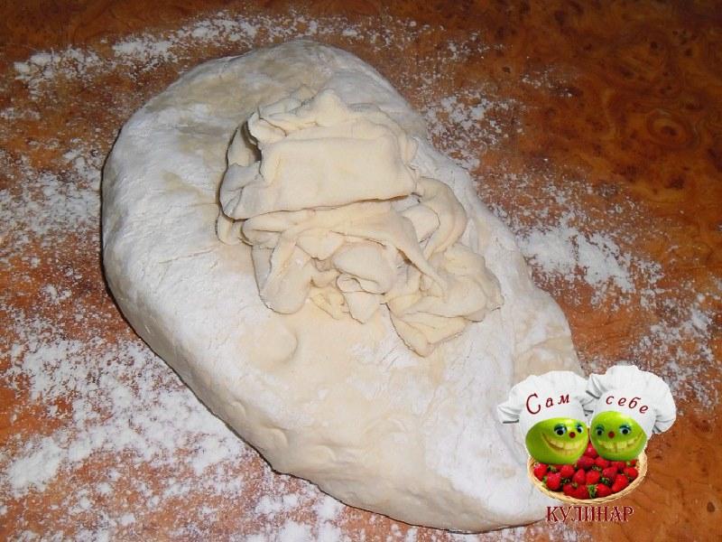 Тесто для домашних пельменей из яиц